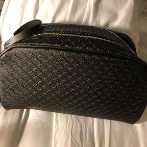 Jeffree star black double zipper bag